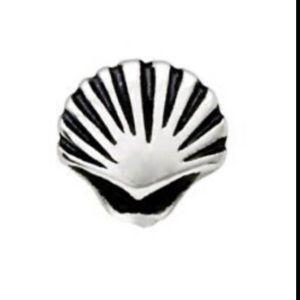 3/$15 🖤 ORIGAMI OWL 🖤 Silver Seashell Charm